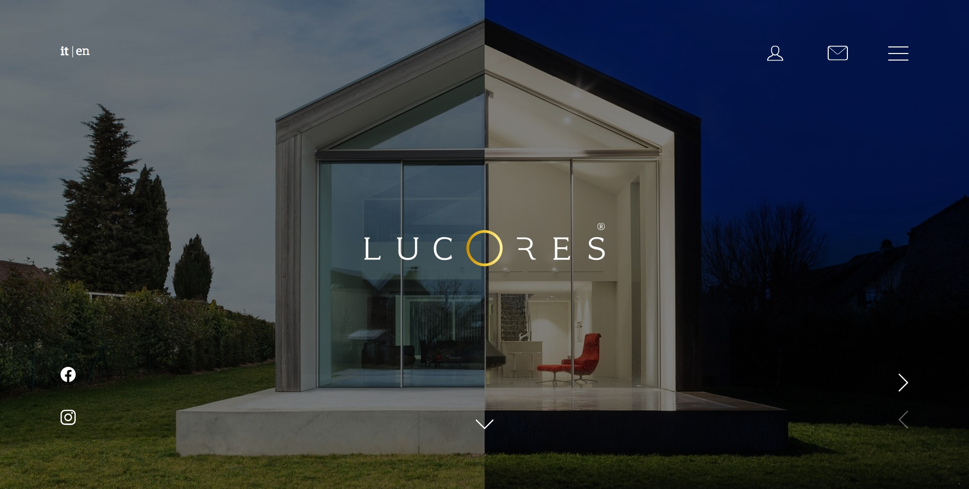 Lucores screenHome