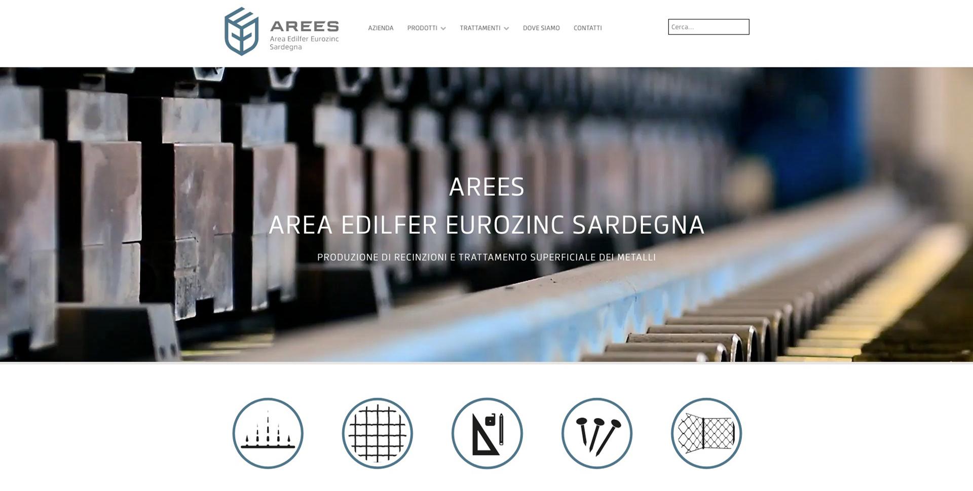 AREES AREA EDILFER EUROZINC SARDEGNA