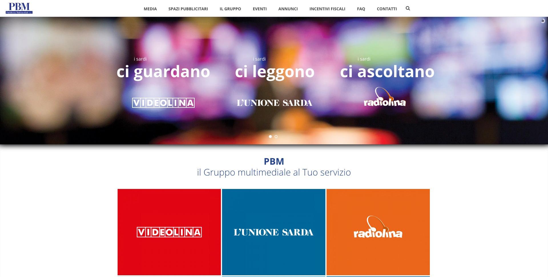 PBM - Pubblicità Multimediale - Sardegna